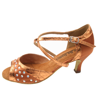 Ladies Latin/Rhythm Ballroom Shoes - Style No GO974