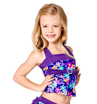 Child Flower Power Tank Top - Style No K5096