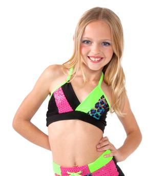 Girls Cross Back Camisole Bra Top - Style No K5136