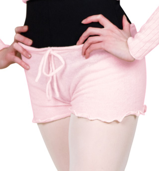Women Knitted Dance Shorts - Style No KT0619A
