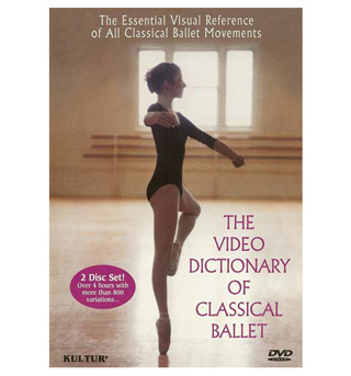 The Video Dictionary of Classical Ballet DVD - Style No KUD1100