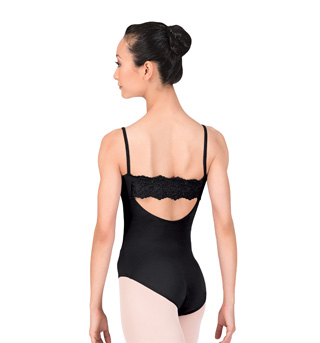 Adult Camisole Anglaise Back Leotard - Style No L3050