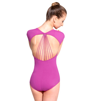 Rouleaux Short Sleeve Leotard - Style No L4722