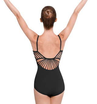 Adult Rouleaux Back Camisole Leotard - Style No L4757
