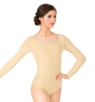 Adult Essential Long Sleeve Leotard - Style No L5609