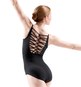 Camisole Diamond Knot Back Leotard - Style No L6197
