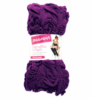 Adult/Girls Purpleberry Ruffle Legwarmers - Style No LRUFFLE3