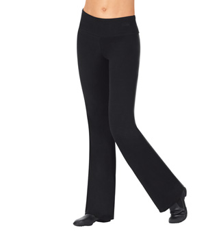 Adult Brushed Cotton Wide Waistband Jazz Dance Pants - Style No LUB246