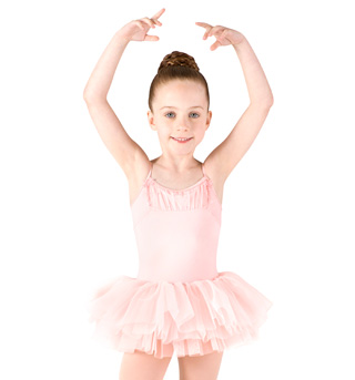 Girls Camisole Glitter Mesh Tutu Dress - Style No M1062Cx
