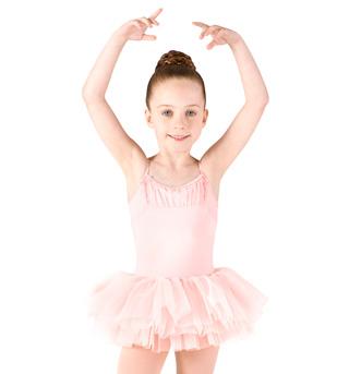 Girls Camisole Glitter Mesh Tutu Dress - Style No M1062C