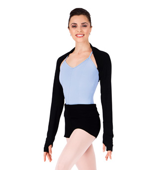 Adult Warm-Up Shrug with Thumbholes - Style No M1105