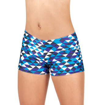 Girls Printed Shorts - Style No M1631C