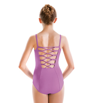 Girls Camisole Pinch Front/Loop Back Leotard - Style No M2535C