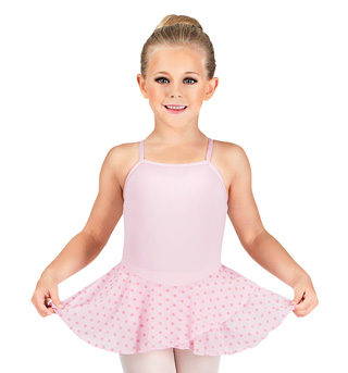 Girls Polka Dot Camisole Dress - Style No M4318C