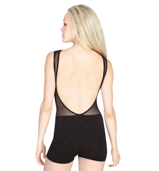 Mesh Tank Shorty Unitard - Style No MAT89504