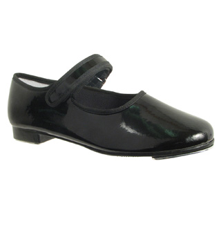 Child Velcro-Strap Beginner Tap Shoe - Style No MJ100