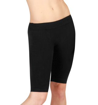 Adult Lowrise Dance Shorts with Ribbed Waist - Style No MPS01
