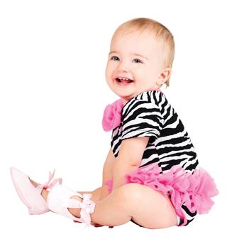 Toddler Zebra Infant Bodysuit - Style No N036x