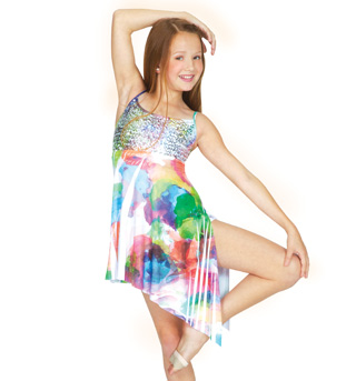 Child Sublimated Camisole Dress - Style No N7029C