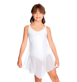Child Glitter Mesh Dress - Style No N7101C