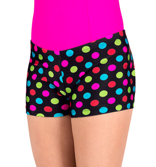 Child Printed Dance Shorts - Style No N8365PC