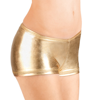 Adult Metallic Dance Shorts - Style No N8392