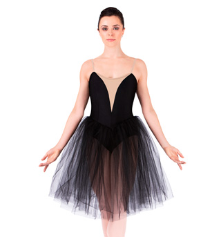 Adult Classical Tutu Dress With Nude Insert - Style No N8438