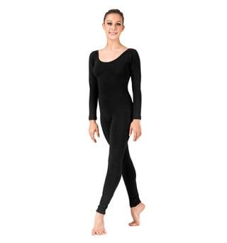 Adult Basic Long Sleeve Unitard - Style No N8442