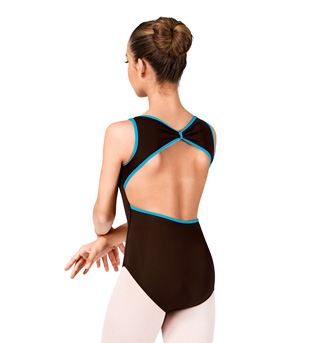 Tank Leotard With Open Back  - Style No N8445