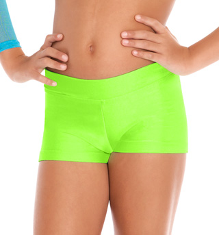 Child Dance Shorts With Banded Waist - Style No N8592C