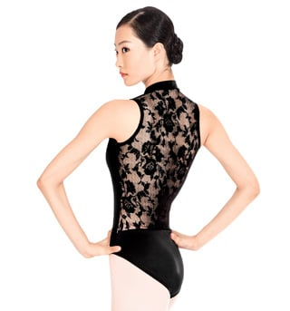 Adult Lace Back Tank Leotard - Style No N8699