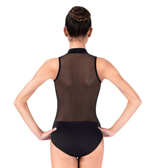 Adult Tank Leotard with Mesh Back - Style No N8699M