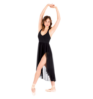Adult Hi-Lo Hem Halter Dress - Style No N8735x