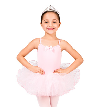 Child Wire Hem Camisole Tutu Dress - Style No N8750C