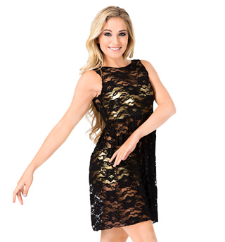 Adult Lace Tank Overdress - Style No N8772