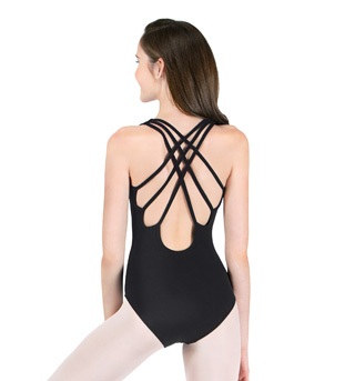 Adult Tank Leotard with Triple Strap Back - Style No N8802x