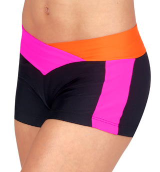 Two-Tone V-Front Short - Style No NF8449x