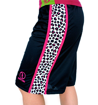 B-Ball Short with Pink Leopard - Style No NT521x
