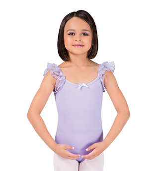 Child Flutter Sleeve Leotard - Style No PB103C