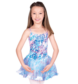 Child Sublimation Print Dress - Style No PB107Cx