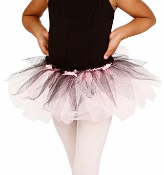 Child Two-Tone Tutu Skirt - Style No PB28048