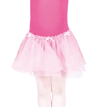 Child Glitter Soft Tulle Skirt - Style No PB28190C