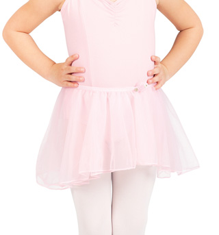 Child Tapered Chiffon Skirt - Style No PB513Cx