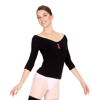 Adult Pink Ribbon Sweater - Style No PR101S