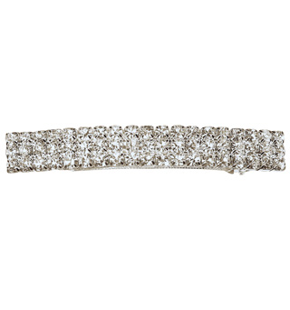 Crystal Barrette French Clip Large - Style No RU053