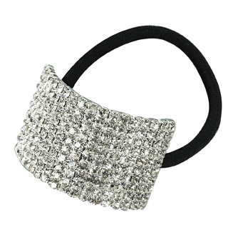 Crystal Cuff Ponytail Binders Large - Style No RU056