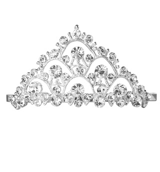 Small Crystal Tiara For Children - Style No RU063
