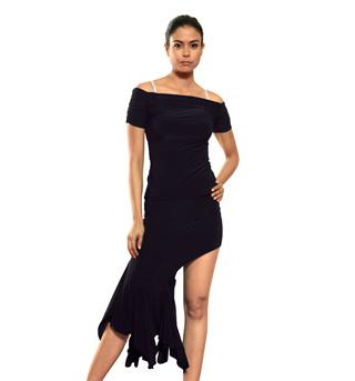 Ladies Asymmetrical Mermaid Skirt - Style No S411