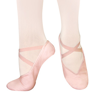Adult Tendu Canvas Split-Sole Ballet Slippers - Style No S9C