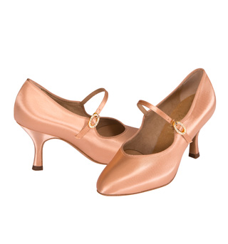 Ladies Smooth Ballroom Shoes - Style No SD1012